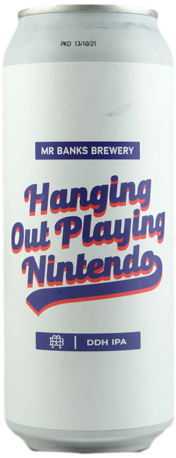Mr Banks Hanging Out Playing Nintento DDH IPA
