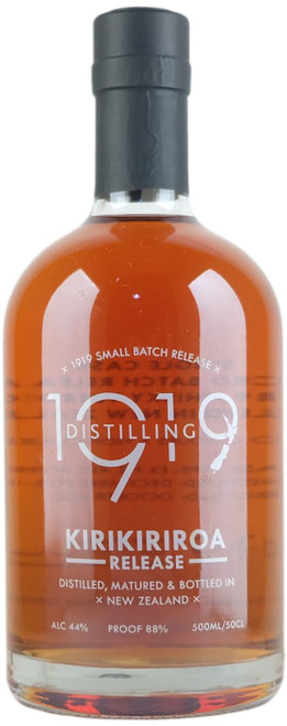 1919 Distilling Kirikiriroa Release New Zealand Whisky