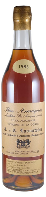 Lacourtoisie 1985 Bas Armganac
