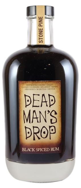 Stone Pine Dead Mans Drop Black Spiced Rum