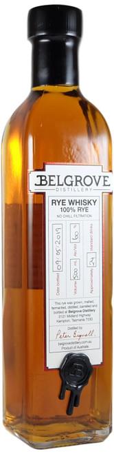 Belgrove Pinot Noir Cask Rye Whisky