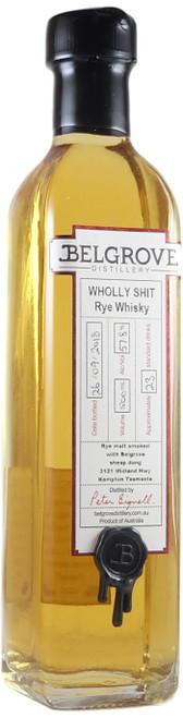 Belgrove Wholly Shit Rye Whisky