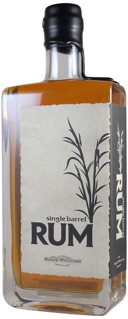 Baker Williams Single Barrel Rum First Release Cask Strength