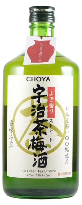 Choya Green Tea Umeshu 720ml