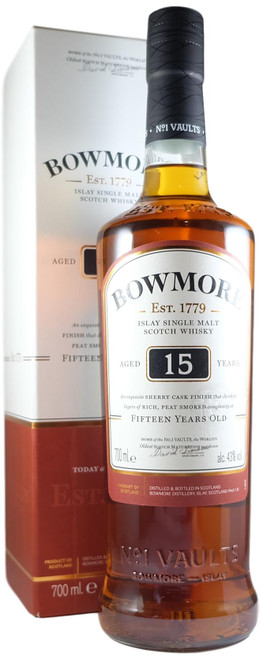 Bowmore 15-Year-Old Sherry Cask
