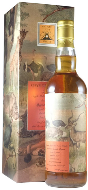 Speyside 1975 42-Year-Old Antique Lions Of Whisky Savannah