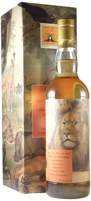 Glen Keith 1993 24-Year-Old Antique Lions Of Whisky Savannah