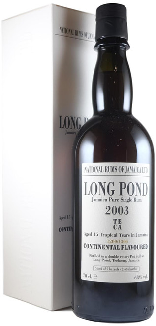 National Rums Of Jamaica Long Pond 2003