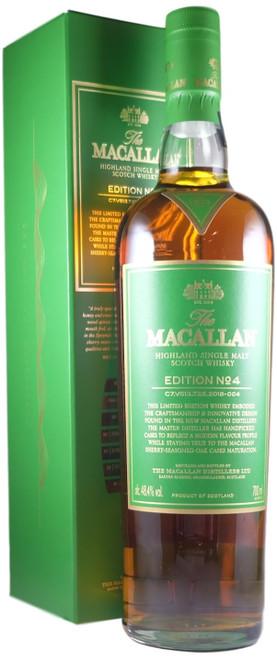 Macallan Edition 4 Single Malt Scotch Whisky
