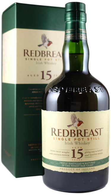 Redbreast 15-Year-Old Irish Pot Still