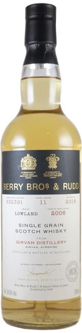 Berry Brothers & Rudd Girvan Single Grain 2006 11-Year-Old