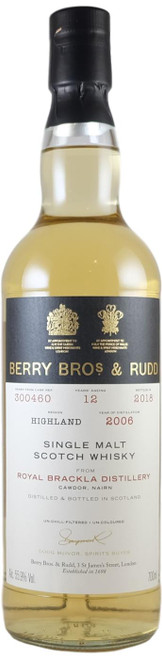 Berry Brothers & Rudd Royal Brackla 2006 12-Year-Old
