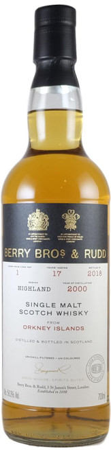 Berry Brothers & Rudd Orkney 2000 17-Year-Old