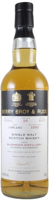 Berry Brothers & Rudd Bladnoch 1990 26-Year-Old
