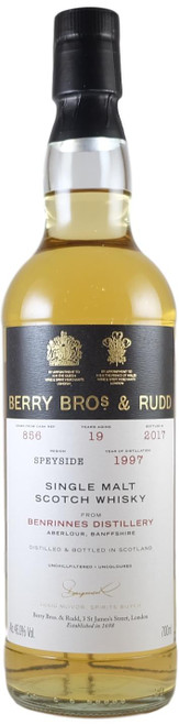 Berry Brothers & Rudd Benrinnes 1997 19-Year-Old