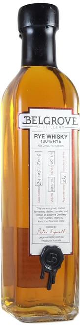 Belgrove Release The Beast Rye Whisky