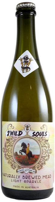 2 Wild Souls White Stringy Sparkling Mead 750ml