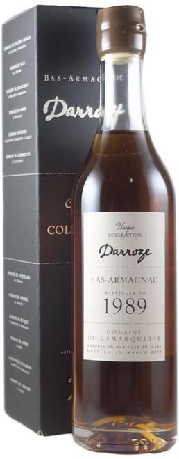 Darroze 1989 Domaine De Lamarquette Bas Armagnac Mini Bottle