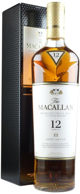 Macallan 12-Year-Old Sherry Oak Single Malt Scotch Whisky