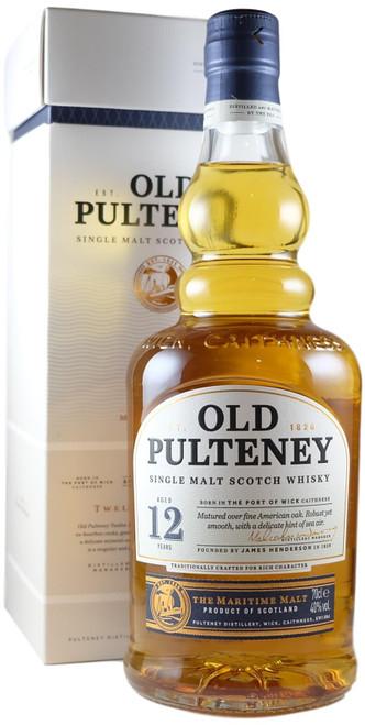 Old Pulteney 12-Year-Old Single Malt Scotch Whisky