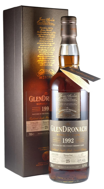 GlenDronach Single Cask batch 16 1992