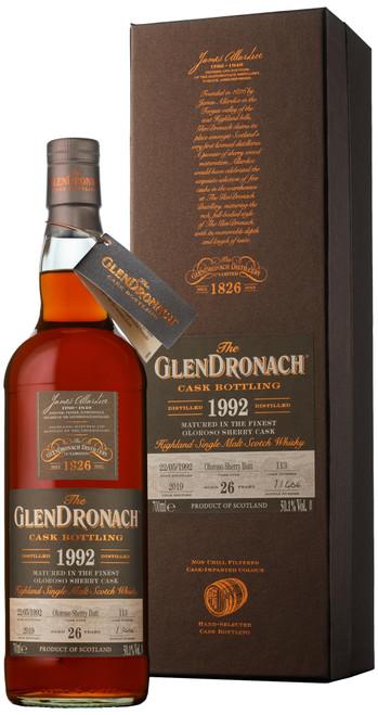 GlenDronach 1992 Single Cask #113 (Batch 17)