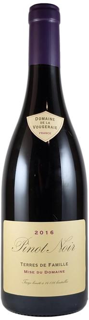 Domaine de la Vougeraie Terres de Famille Pinot Noir 2016