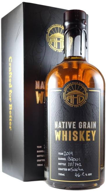 Adelaide Hills Native Grain Whiskey 2019 Release