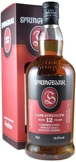 Springbank 12-Year-Old Cask Strength Batch 18