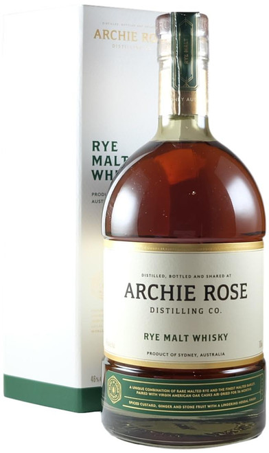 Archie Rose Rye Malt Australia Whisky