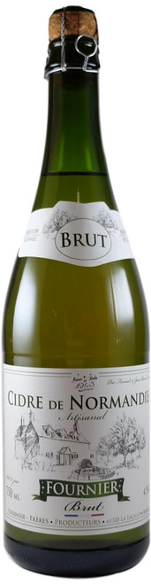Fournier Brut Cidre de Normandie (dry apple cider) 750ml
