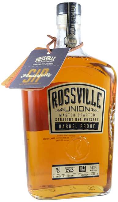 Rossville Union Barrel Proof Straight Rye