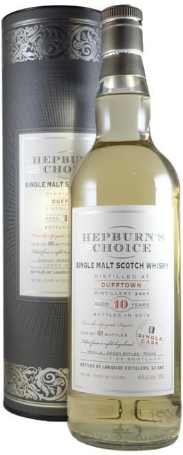 Hepburn's Choice Dufftown 2007 Single Cask