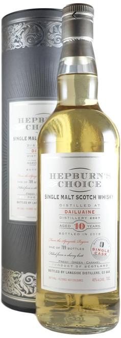 Hepburn's Choice Dailuaine 2007 Single Cask