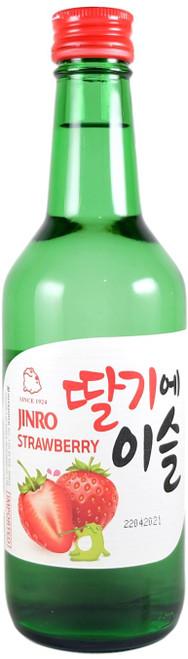 Hite Jinro Strawberry Soju 360ml