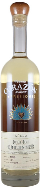Corazon Expresiones Old 22 Buffalo Trace Tequila