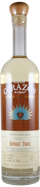 Corazon Expresiones Buffalo Trace Reposado Tequila