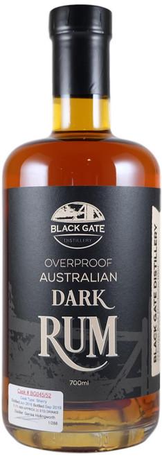 Black Gate Overproof Rum BG045/52