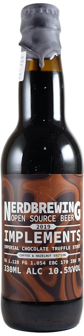 Nerdbrewing Implements Imperial Chocolate Truffle Stout - Coffee & Hazelnut Edition