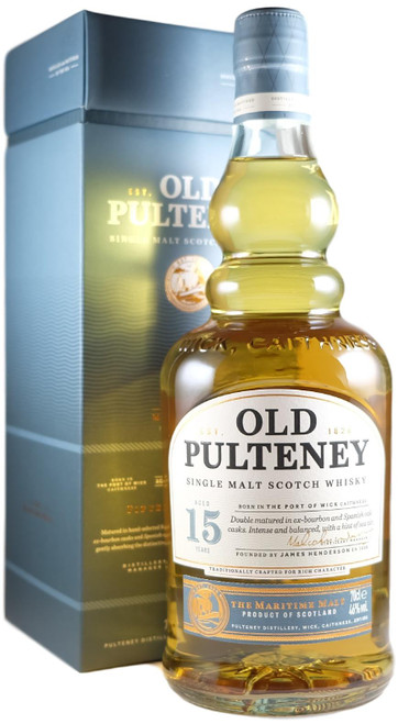 Old Pulteney 15-Year-Old Single Malt Scotch Whisky