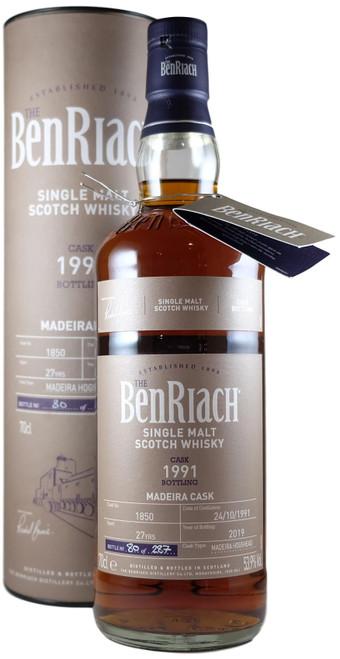 BenRiach 1991 Madeira Single Cask Batch 16