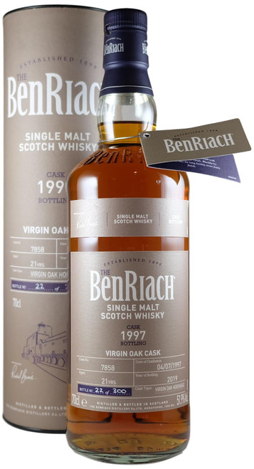 BenRiach 1997 Virgin Oak Single Cask Batch 16
