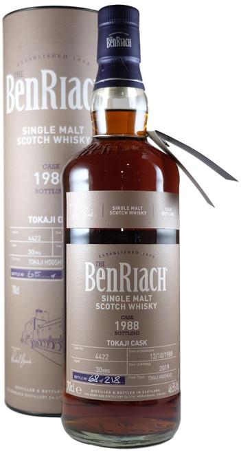 BenRiach 1988 Tokaji Single Cask Batch 16