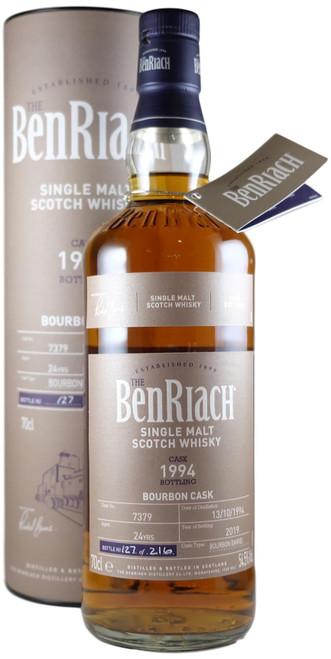 BenRiach 1994 Bourbon  Single Cask Batch 16