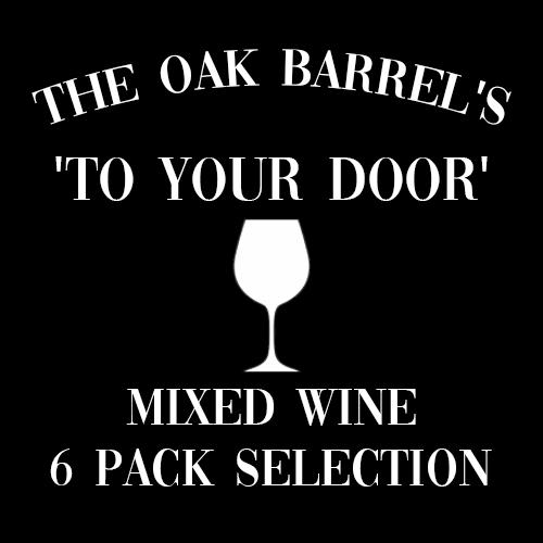 Oak Barrel's To Your Door Mixed Wine 6 Pack Selection