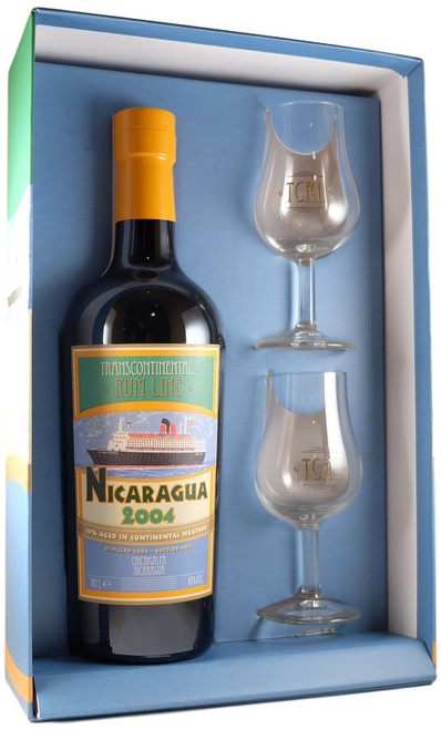 Transcontinental Rum Line Nicaragua 2004 Gift Pack