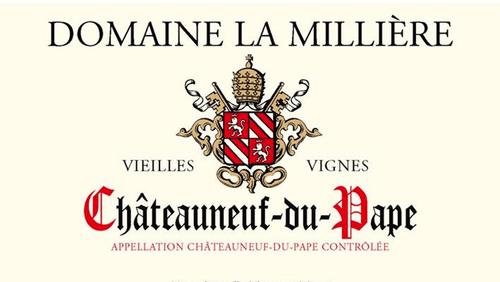 Domaine La Milliere, Chateauneuf-du-Pape - The Oak Barrel Imports