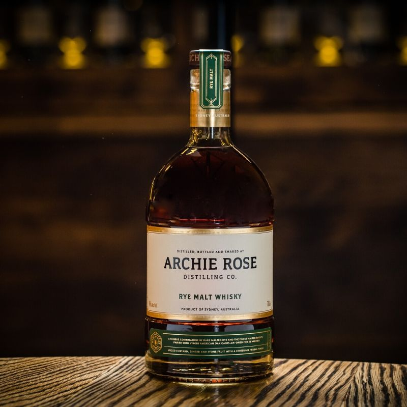 Archie Rose: The World's Best Rye Whisky