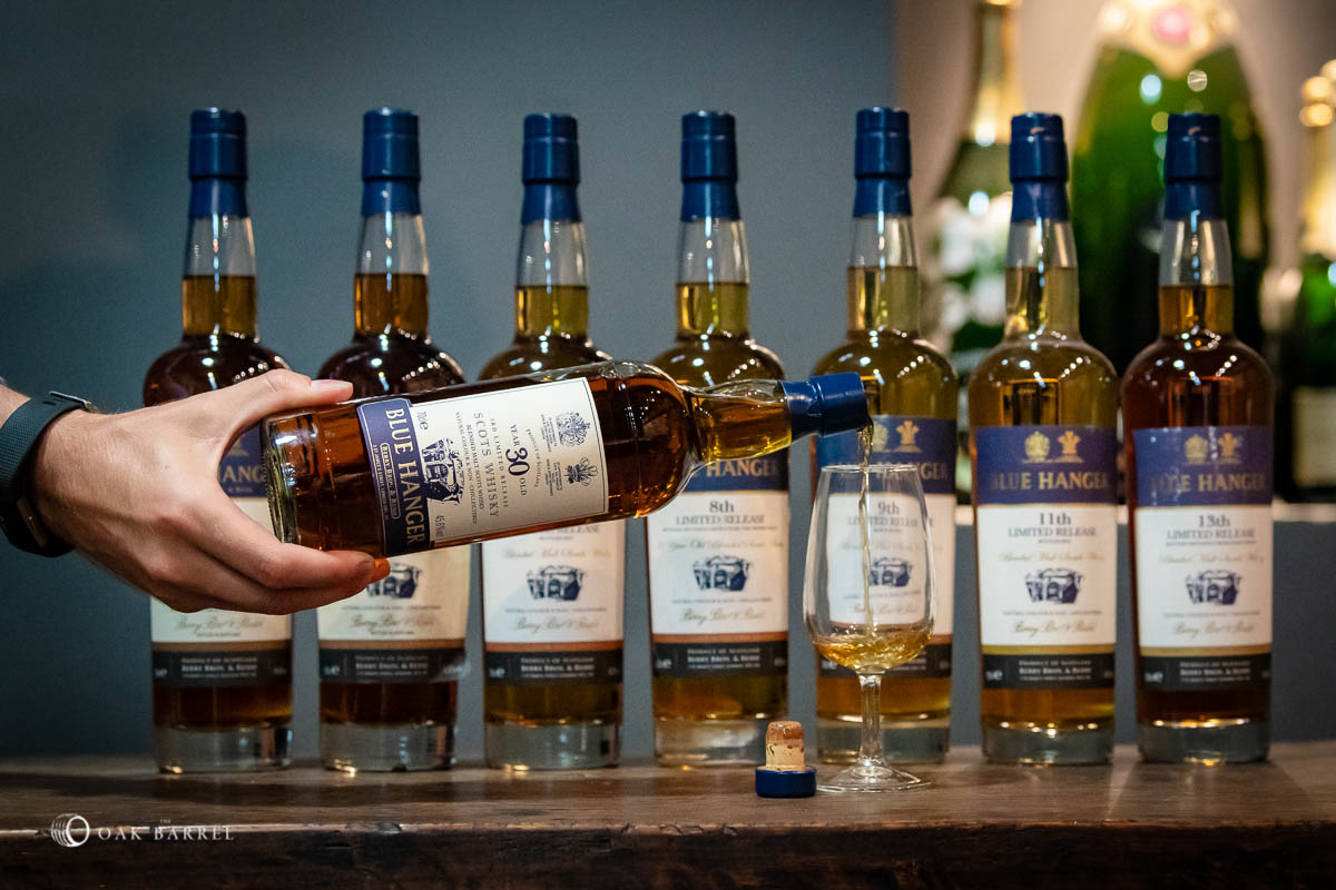 Berry Brothers & Rudd Blue Hanger: A World Exclusive Tasting