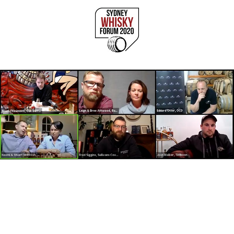 Quotes From The Australian [Virtual] Distillers Dinner 2020 [Sydney Whisky Forum 2020]